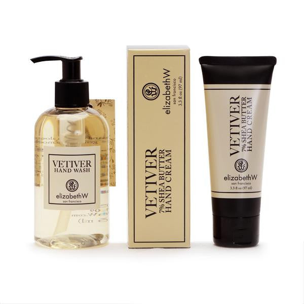 Vetiver Hand Care Set