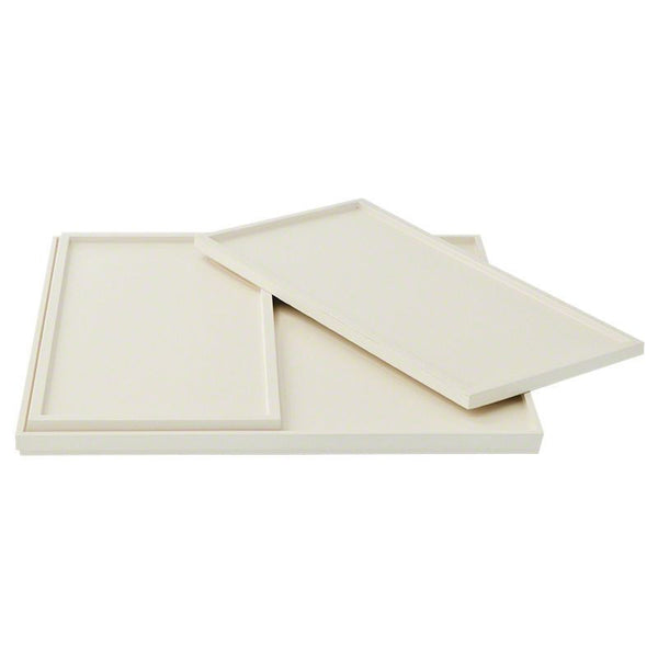Barbara Barry Set of 3 Nesting Trays in Ivory Lacquer - GDH | The decorators department Store