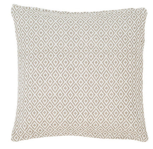 Crystal Platinum/White Indoor/Outdoor Pillow