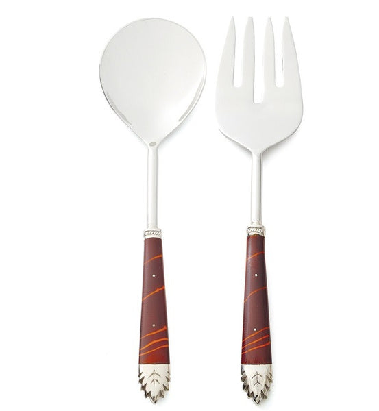 ZEBRAWOOD SALAD SERVER SET