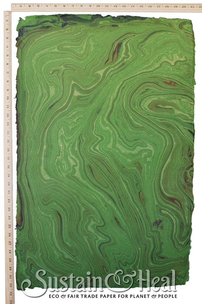 Kelly Green Marble Sheet #132