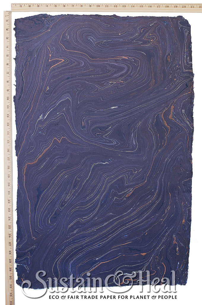 Dark Purple Marble Sheet #136