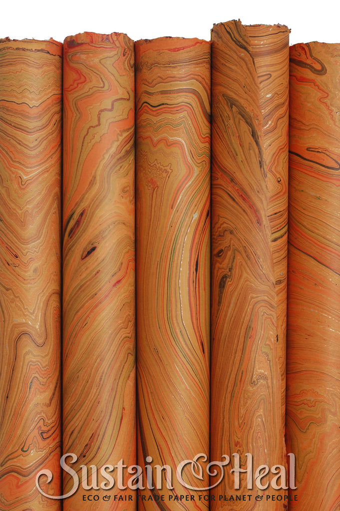 Light Orange Marble Sheet #140