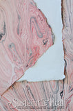 Pink and Gray Marble Sheet #23