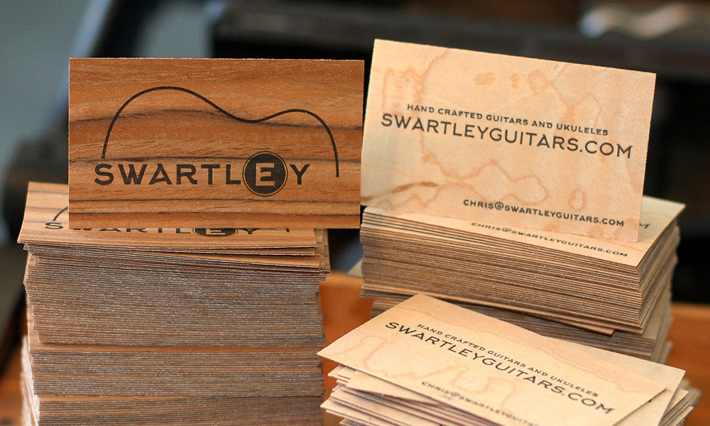 Swartley Guitars Business Card