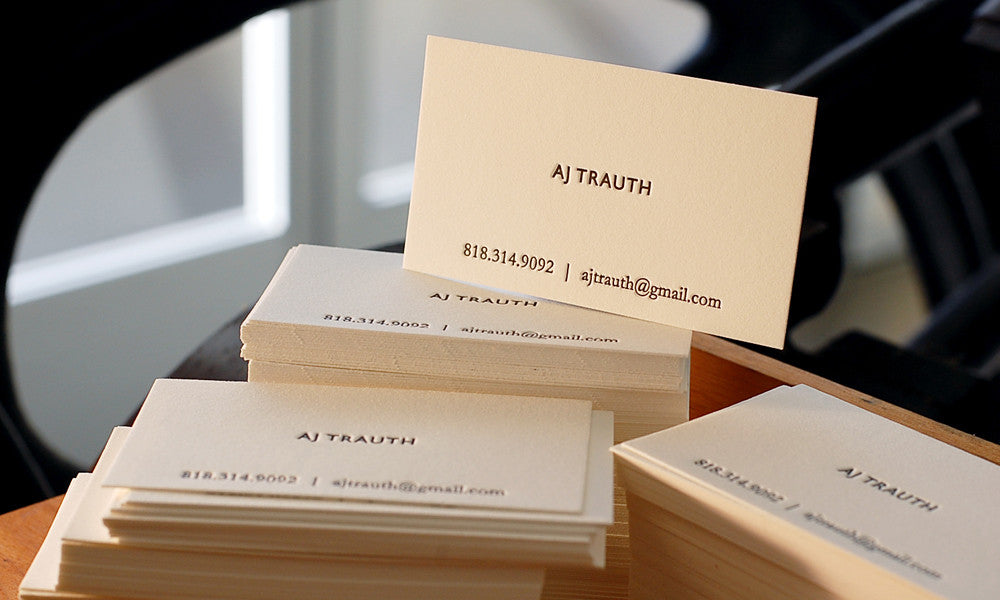 Trauth Business Card