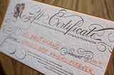 Bat or Bar Mitzvah Gift Certificate