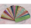 Sustain & Heal fair trade marble paper swatchbook