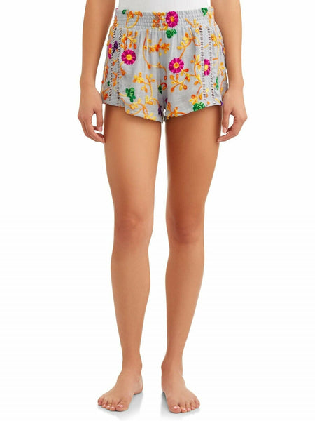 Honeydew Intimates Women's Siesta Sweetheart Embroidered Shorts 73672 XL - Red Tag Central