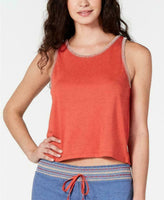 Jenni Intimates Stitch-Trim Pajama Tank Top 100053054 Cayenne Blue XS S M L XXL - Red Tag Central