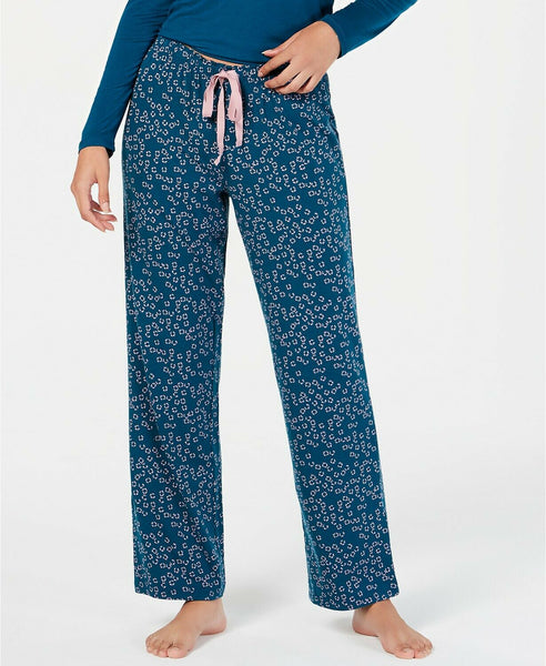 INC International Concepts INC Printed Pajama Pants 100031625 Floral Stamp XS - Red Tag Central