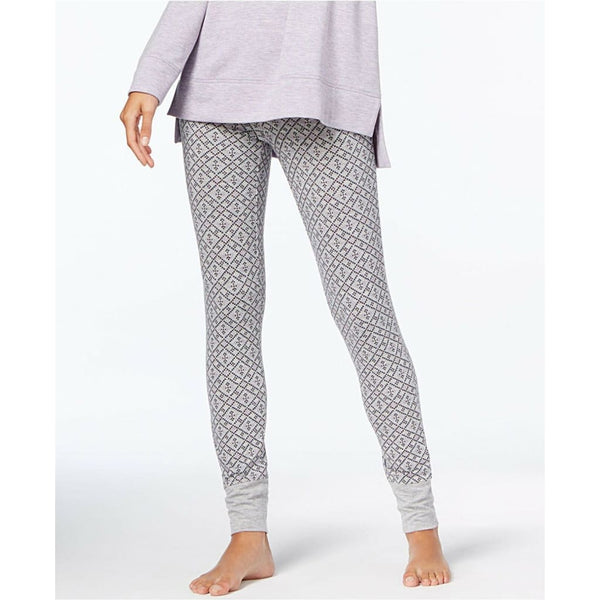 Alfani Jogger Pajama Sleep Pants 271010 Grey Pixel Geo XXXL - Red Tag Central