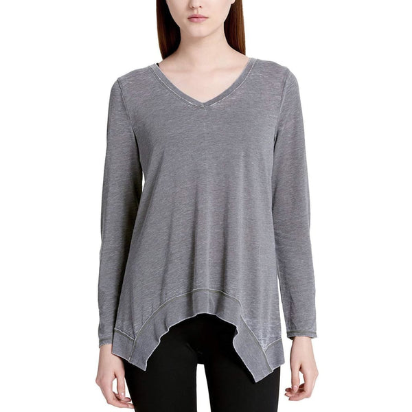 Calvin Klein Performance Roll-Tab Sleeve Pullover Top PF7T0544 Quail XL - Red Tag Central