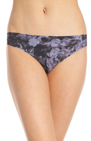 Calvin Klein Invisibles Thong Panty D3507 Whimsical Floral Dark Floral XS S M XL - Red Tag Central