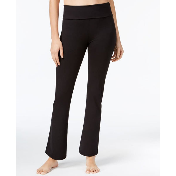 Gaiam Om Nova Bootcut Yoga Pants Gaw173Le08M Black Xs Small Medium - Xs - Clothing Shoes & Accessories:womens Clothing:activewear:activewear