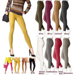 HUE Corduroy Leggings U13784 XS Choose your color - Red Tag Central