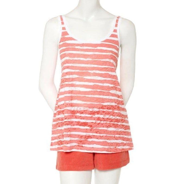 HUE Sophie Stripe Pajama Tank Top HL33300 Small Medium Large XL - Red Tag Central
