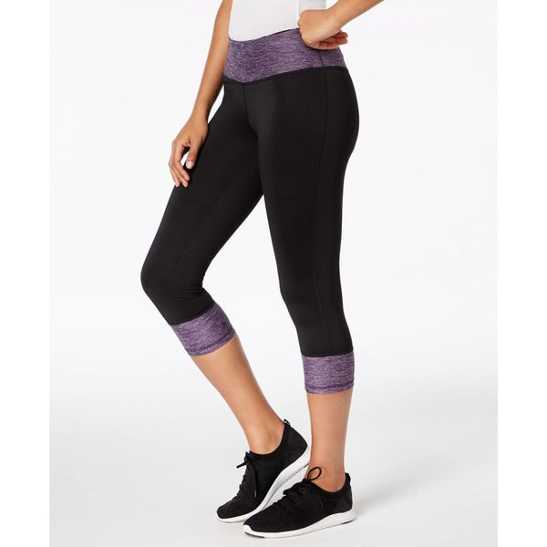 Ideology Women's Colorblocked Performance Capri 77400 Blazing Purple XS or XL - Red Tag Central
