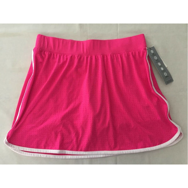 Ideology Women's Fitted Performance Skort 77866 Molten Pink Noir S M L - Red Tag Central