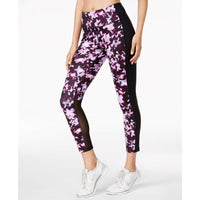 2556d33d95f7 Ideology Womens Printed Cropped 7 8 Leggings 77827 Berry Blur Medium -  Active Wear