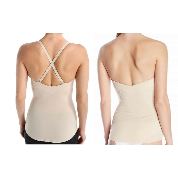 Maidenform Endlessly Smooth Foam Cup Camisole DM1006 Latte Lift 34B - Shapewear