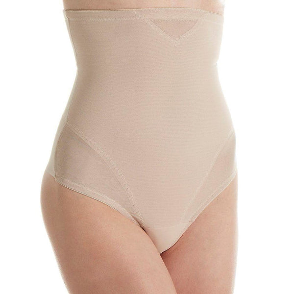 Miraclesuit Extra-Firm Control Hi-Waist Thong 2778 Nude Large XL - Red Tag Central