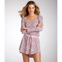 New Tommy Hilfiger Womens Long Sleeve Nightshirt Rh42S055 Small Medium Xl - Rose Blossom / S - Clothing Shoes & Accessories:womens
