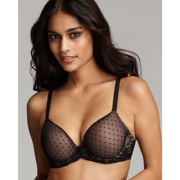 Wacoal Reveal Contour Bra 853115 Black 36B - Red Tag Central