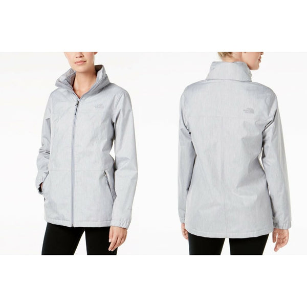 The North Face Louisa Fleece-Lined Rain Jacket NF0A3KGH Grey Medium Black Large - Red Tag Central