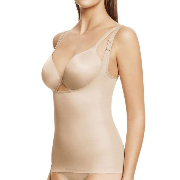 Wacoal Zoned For Shape Cupless Torsette Camisole 802258 Sand Large - Red Tag Central