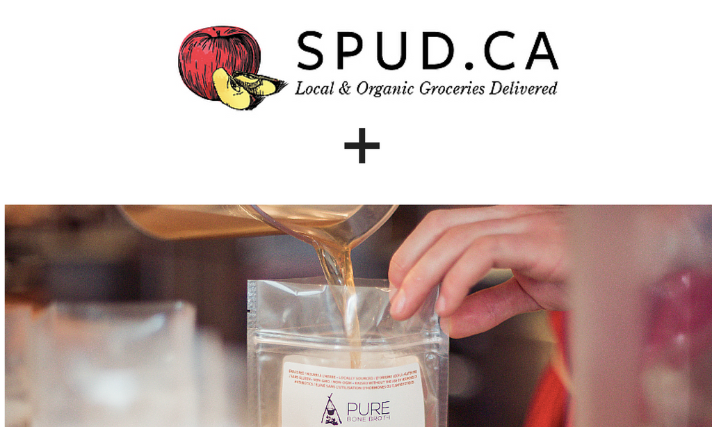 Pure Bone Broth Now at SPUD.ca