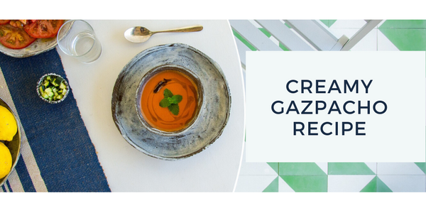 Creamy Gazpacho Recipe With Bone Broth