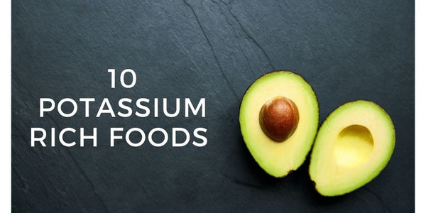 Foods high in Potassium: avocado
