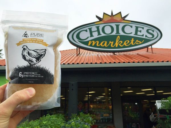 Pure Bone Broth Now Available At Choices Market