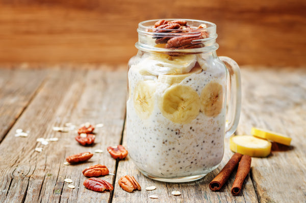 Overnight Oats with Bone Broth