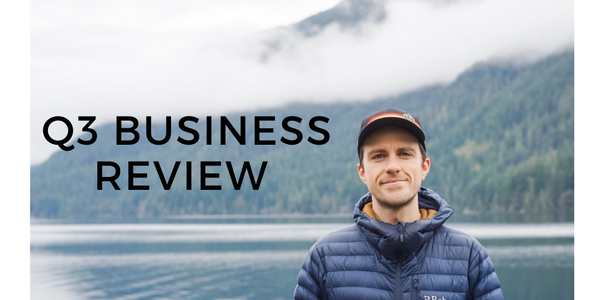 Q3 Business Review From Connor the founder of Bluebird PRovisions Bone Broth