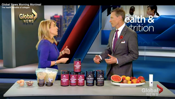 Global News TV Featuring Organic Bone Broth in Canada!