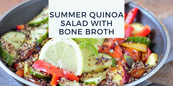 Quinoa Salad Recipe With Bone Broth