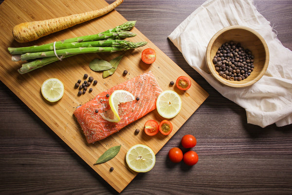 Salmon for omega-3s fish oil