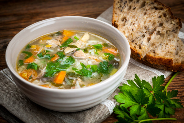 Simple Chicken Soup Recipe to Fight Cold Season