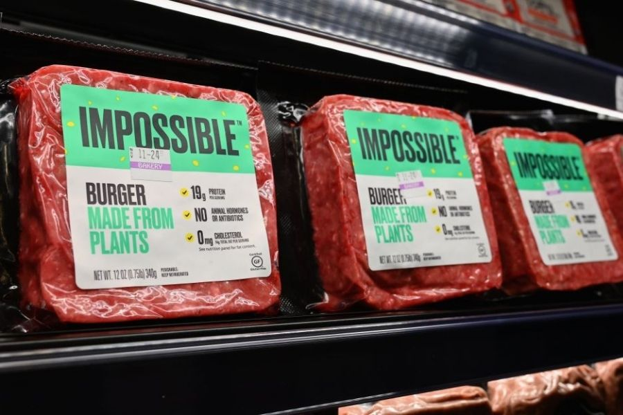 impossible burger, beyond meat burger causes inflammation