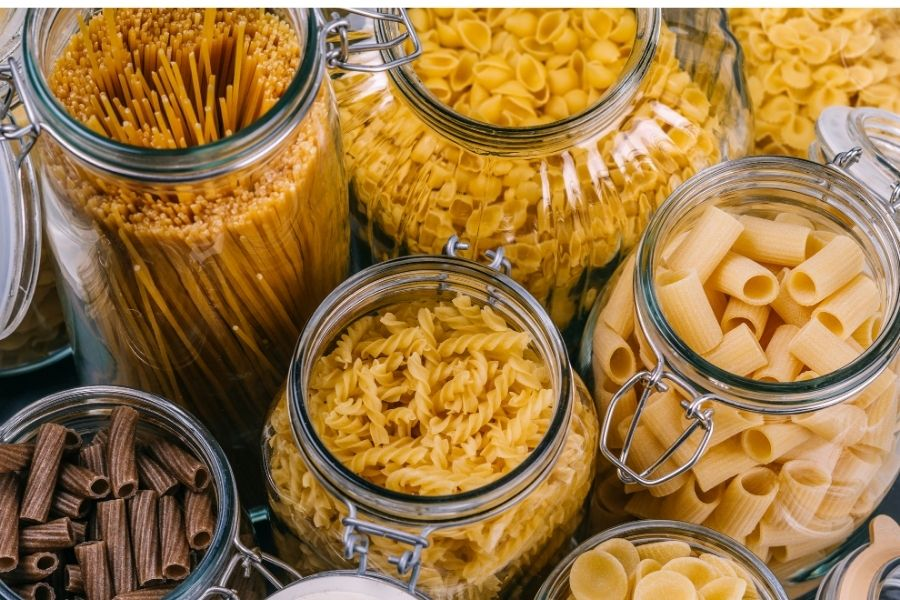 refined carbs and pasta foods that cause inflammation