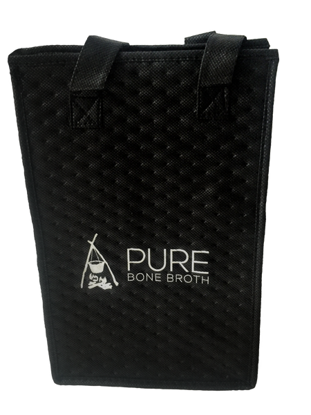 Pure Bone Broth Insulated lunch bag
