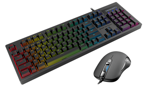 Tesoro Excalibur Spectrum RGB Mechanical Gaming Keyboard + Sharur Spectrum Bundle