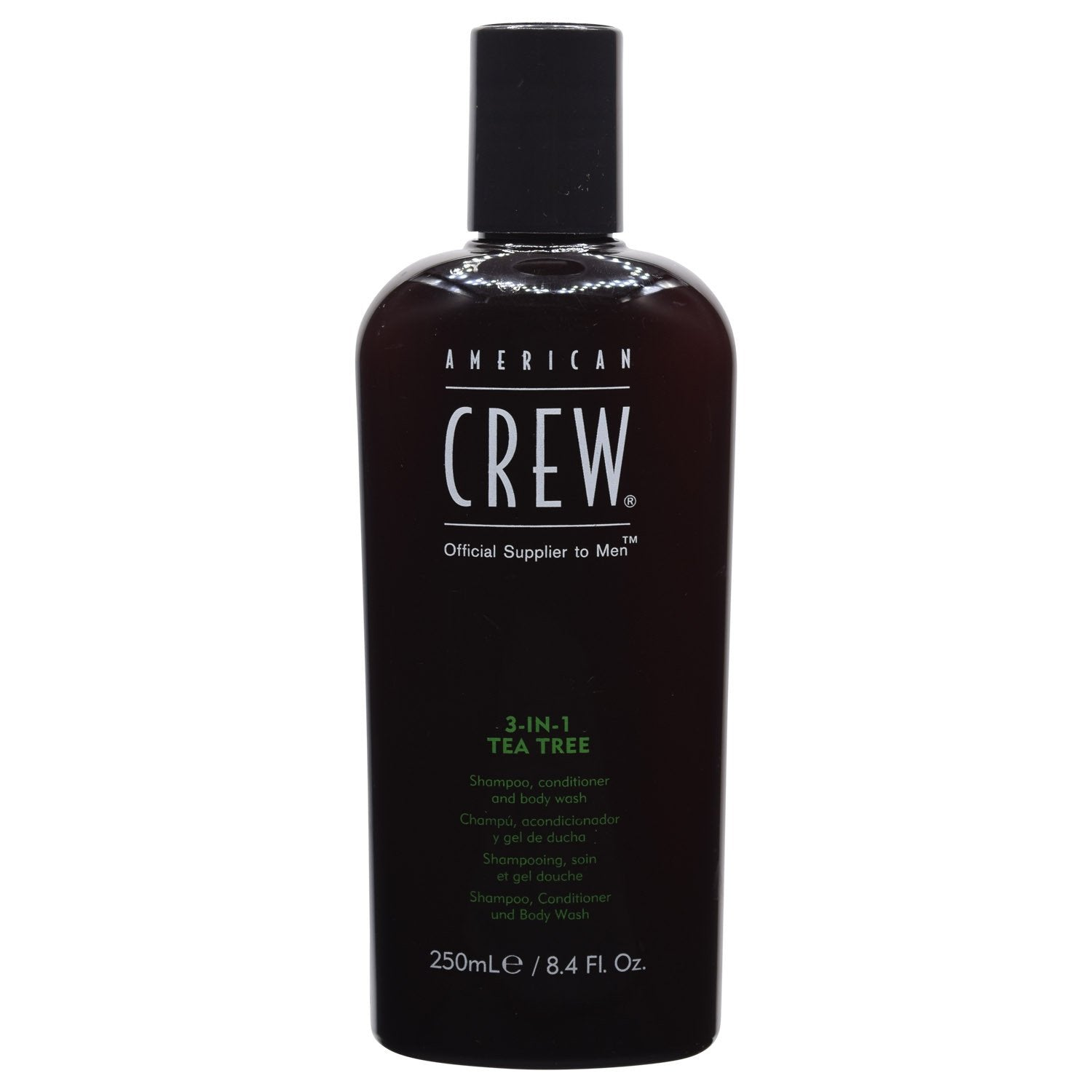 AMERICAN CREW ~ 3-IN-1 TEA TREE SHAMPOO CONDITIONER BODY WASH ~ 8.4 OZ