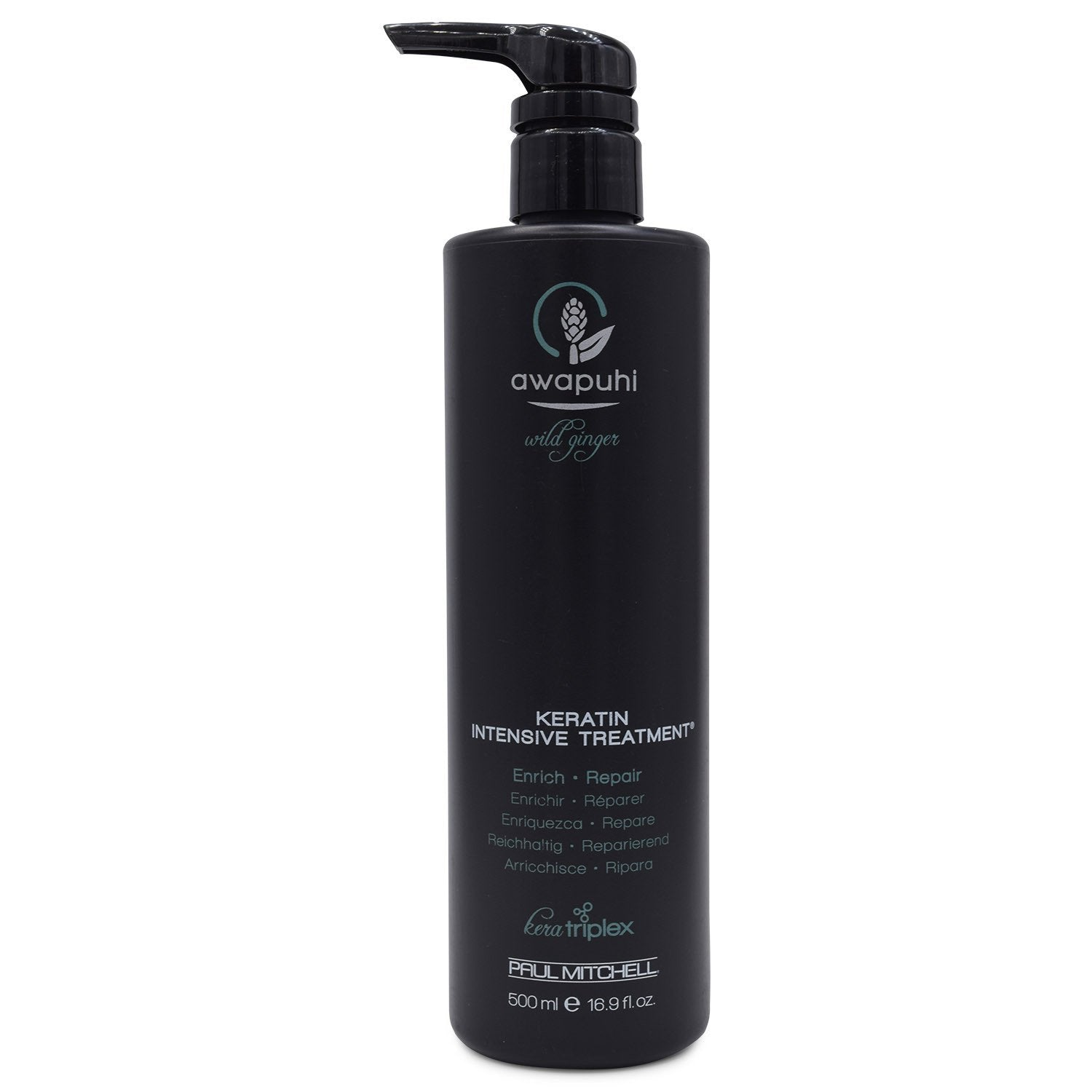 PAUL MITCHELL ~ AWAPUHI WILD GINGER ~ KERATIN INTENSIVE TREATMENT ~ 16.9 oz