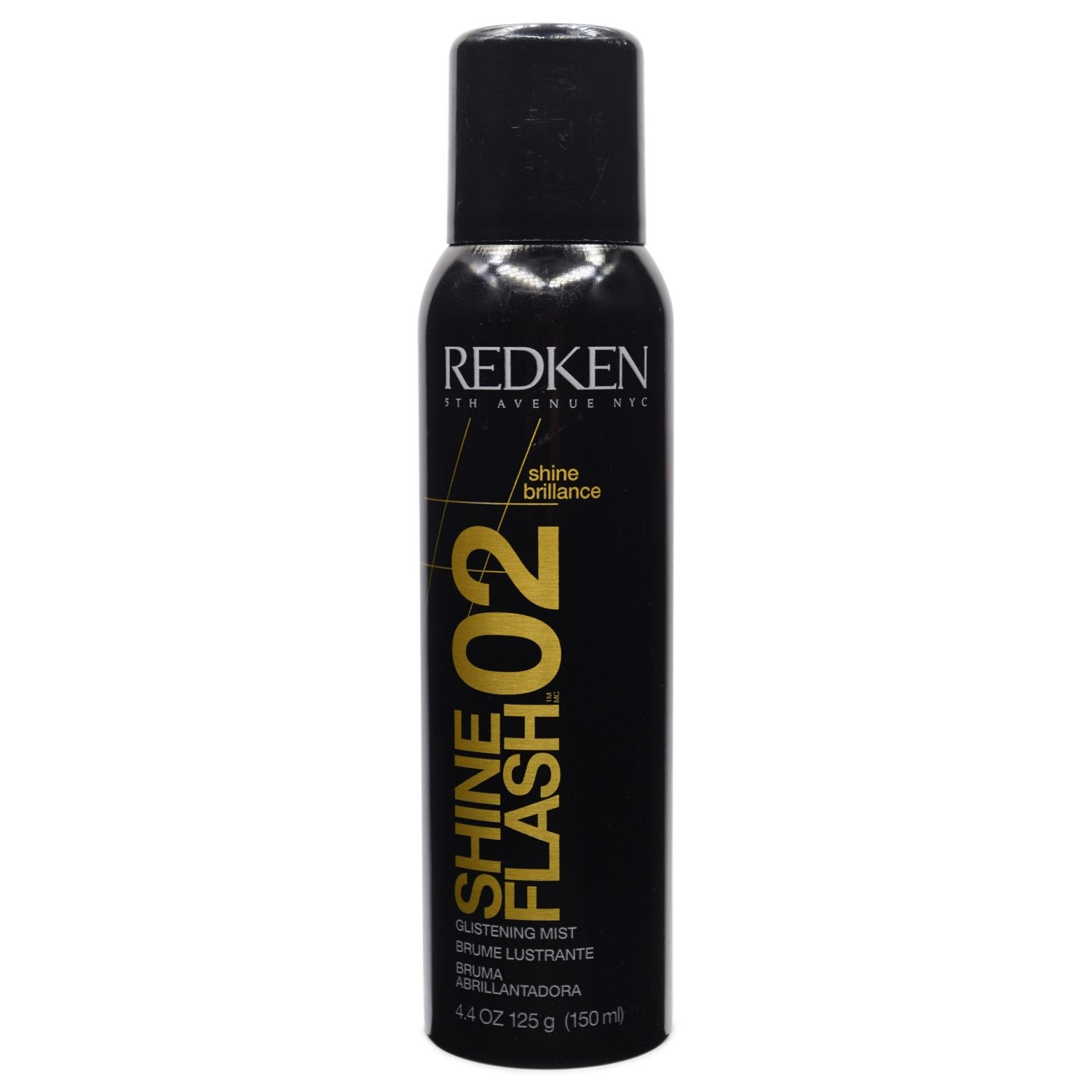 REDKEN ~ 02 SHINE FLASH GLISTENING MIST ~ 4.4 OZ