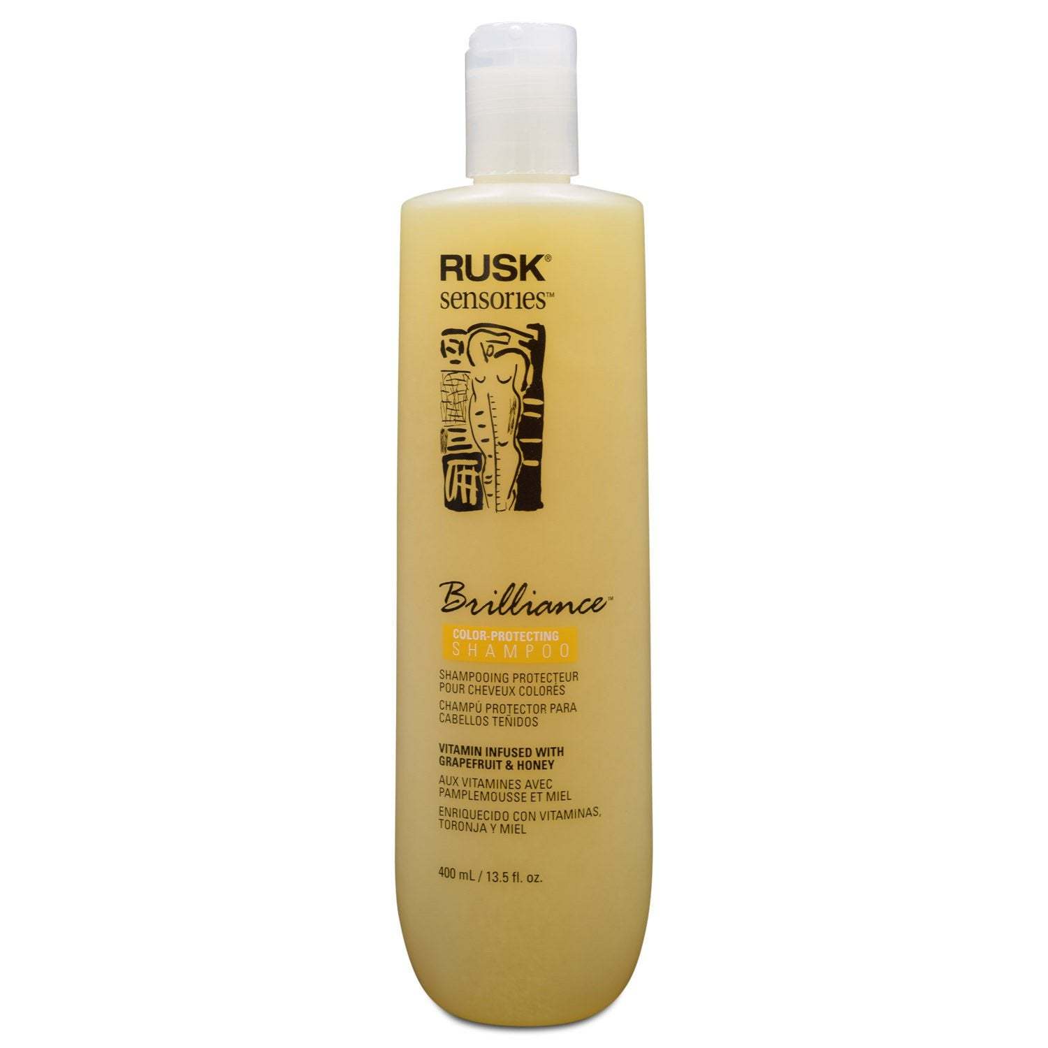 Rusk Sensories Brilliance Color Protecting Shampoo 135 Fl Oz Lala