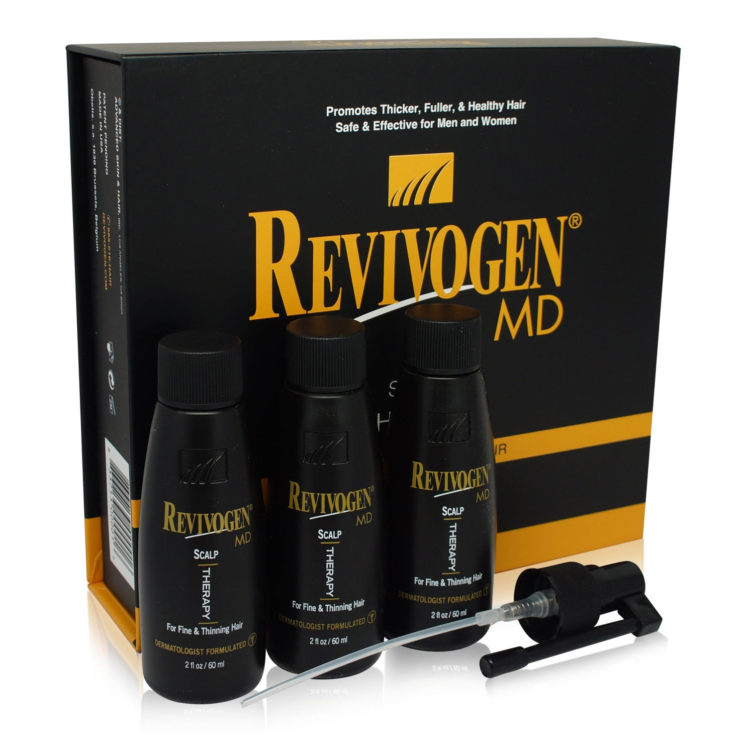 ADVANCED ~ REVIVOGEN MD SCALP THERAPY 3 MONTHS SUPPLY