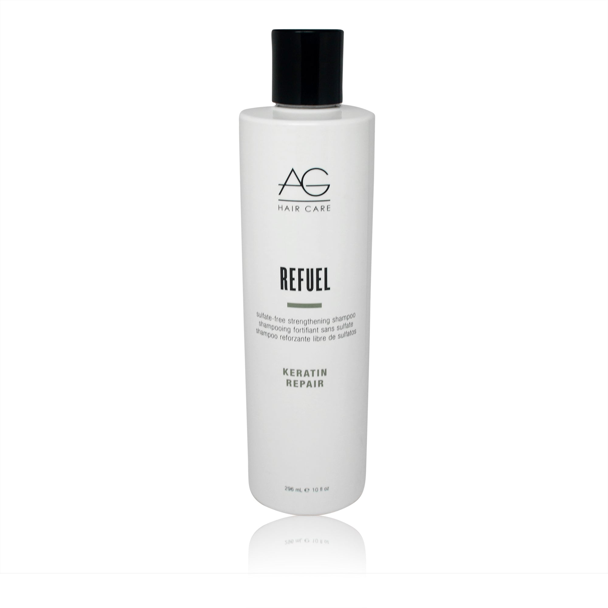AGHAIR ~ REFUEL SULFATE-FREE STRENGTHENING SHAMPOO ~ 10OZ